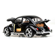 1:18 Volkswagen Beetle Superior 1967 Metal Diecast Model Car Toy Black Xmas Gift