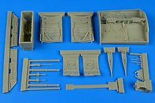 Aires 1/32 Lockheed F-104G/S Starfighter Wheel Bay for Italeri # 2202