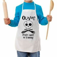 Personalised Pirate Chef Children's Apron - kids cooking aprons