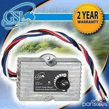 GSL XLE-12T COMPACT ELECTRONIC ELECTRIC BRAKE CONTROLLER TRAILER 4WD 12V XLE12T