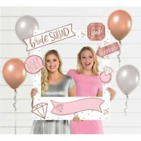 Photo Booth Props Frame Wedding Engagement Bridal Shower Party Signs Reception