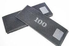 50 x Schleifgitter Bögen 270 x 110 mm K100 Trockenbau Körnung Schleifpapier