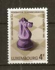 Luxemburg: 1981 50Th Anniv. Luxemburg Chess Federation MNH