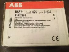 ABB DS 671 C25 0,03A SYSTEM PRO M RCBO 11812285