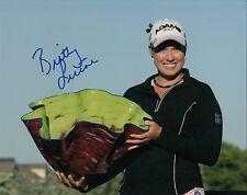 BRITTANY LINCICOME signed *LPGA* WOMEN'S GOLF 8X10 photo W/COA SOLHEIM CUP #2