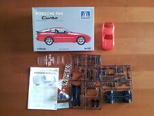 Kit Italeri N. 653 Porsche 944 Turbo Scala 1/24 Set Plastic Hobby Model Maquette