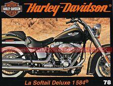 HARLEY DAVIDSON FLSTN 1584 Softail Deluxe Sweet Home Milwaukee Advanting MOTO HD