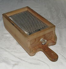 Grater Box: Wood and Metal : Decorative & Practical: Use, or Hang and Display