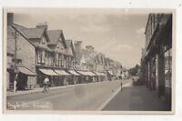 High Street Street Somerset 1952 RP Postcard 701b