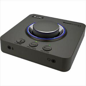 CREATIVE Sound Blaster X4 SB-X-4A Super X-Fi Headphone Audio 7.1 USB DAC