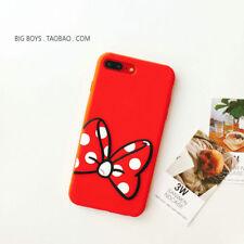 Cartoon Cute Disney Silicone Soft Dropproof Kid Cover Case for Samsung Huaweip10 Funny Minnie Samsung Galaxy S8 Plus