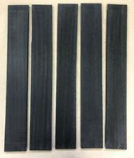 AAA Ebenholz Griffbrett | Ebony Fingerboard | Tonholz | Tonewood 530 x 75 x 9mm