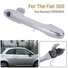 Genuine Fiat 500 Offside Right Driver Side Chrome Outer Door Handle 735592012 EO