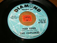 THE CUPCAKES - PIED PIPER - WINTER BLUE  / LISTEN - GIRL GROUP POPCORN