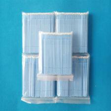 500pcs MicroBrush Supply Eyelash Extension large size Applicator Brush Blue