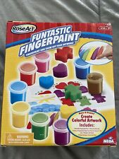 New RoseArt Funtastic Fingerpaint Activity Craft Kit (Brand New Factory Sealed)