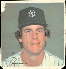Original 1978 New York Yankees Large Baseball Player Lithograph- Gary Thomasson