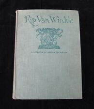 Rip Van Winkle: 1919 w/ 50 Tipped In Arthur Rackham Color Plates