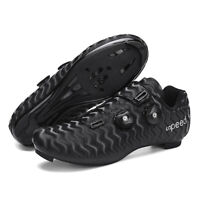 Self-locking Cycling Shoes Man Road SPD Cleat Bike Shoes Fitness Bicycle Sneaker