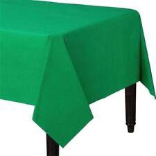 Art de la table de fête nappes verts sans marque pour la maison