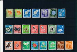 D192574 Japan Nice selection of MNH stamps
