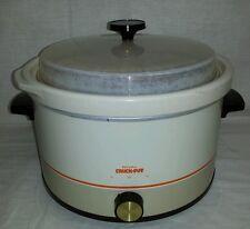 Vintage Rival 3355 Crock Pot 5 Quart Slow Cooker