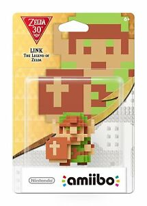 8-Bit Link amiibo - 30th Anniversary Legend of Zelda [Nintendo Switch Wii U 3DS]
