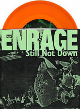 "ENRAGE still not down 7""EP 1997 USA CLEAR YELLOW VINYL w/insert Hardcore Punk"
