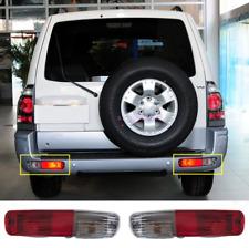 2003-2006 For Mitsubishi Pajero Montero Rear Bumper Fog Light Tail Lamp Refit*2