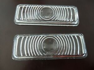 1947-53   Chevrolet Truck Park Lens  pair