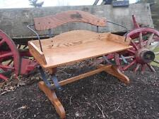 Buckboard Bench Woodworking Kit-Complete Hardware w/full size plans-Real Springs