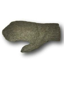 Swiss Army Wool  Thick Winter Mittens, unisex Large