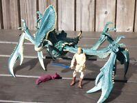 Star Wars Acklay Beast Geonosis Battle Monster Obi Wan Kenobi Figure Set Toy