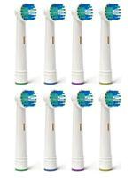 Têtes de rechange électriques de brosse à dents compatibles avec Oral B Br Xg