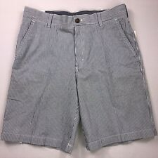 Men's Clothing Mens Size 34 Izod Luxury Sport Light Blue Flat Front Shorts Inseam 10 Inches Shorts