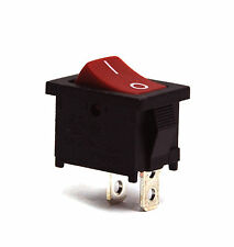 10pc Rocker Switch 2P SPST On-Off 10A125V 6A250 JS-606 JS-606A-Q1R/B-3H JEC