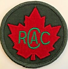 Canada RCAC Royal Canadian Army Cadets Badge Patch # 4992