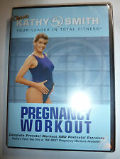 Classic Kathy Smith: Pregnancy Workout DVD fitness prenatal & postnatal mom NEW!