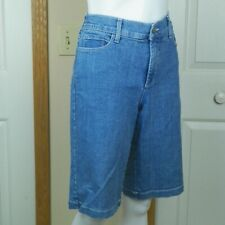 NYDJ Not Your Daughters Jeans Ladies Denim Blue Shorts Size 12
