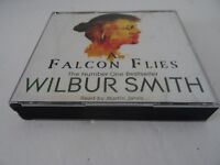 A Falcon Flies by Wilbur Smith Audio CD read by Martin Jarvis