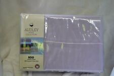 Audley Home 100% Egyptian Cotton 800TC 3 Piece TWIN Size Sheet Set LAVENDER NIP
