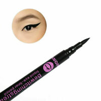 Women Waterproof Makeup Eyebrow Liquid Eye Liner Pencil Eyeliner Pen. Black U2R4