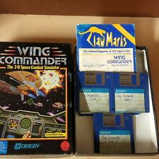 Wing Commander The 3-D space combat simulator by Origin floppy disc
