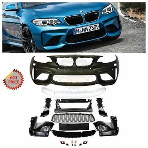 BMW F22 F23 M2 STYLE FRONT BUMPER KIT WITH PDC OEM QUALITY POLYPROPYLENE PLASTIC
