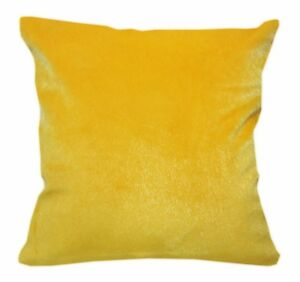 Fh214a Gold Yellow Soft Faux Mink Fur Cushion Cover/Pillow Case*Custom Size