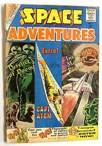 SPACE ADVENTURES #34 - 2ND APPEARANCE CAPTAIN ATOM - DITKO ART 1960!