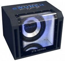 Crunch GTS-350 Single Bandpass Subwoofer Kiste 25 cm 700 Watt max GTS 350