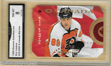 1996 97 DONRUSS CANADIAN O CANADA Lindros 11 of 16 825/2000 Graded GMA 8 NM MT