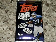 2000 TOPPS SEASON OPENER FOOTBALL CARD PACK-POSS ROOKIES+FREE BRADY ROOKIE AUTO