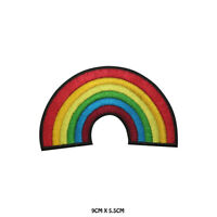 RAINBOW LGBT Disney Embroidered Patch Iron on Sew On Badge